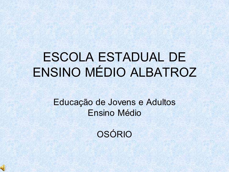 ESCOLA ESTADUAL DE ENSINO MÉDIO ALBATROZ