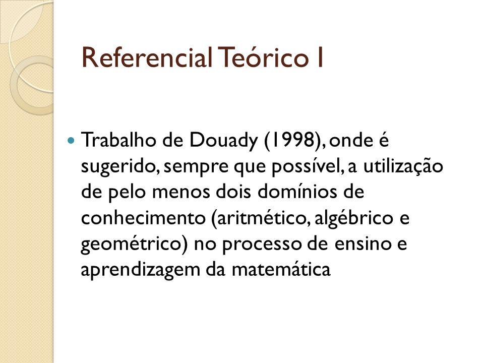 Referencial Teórico I