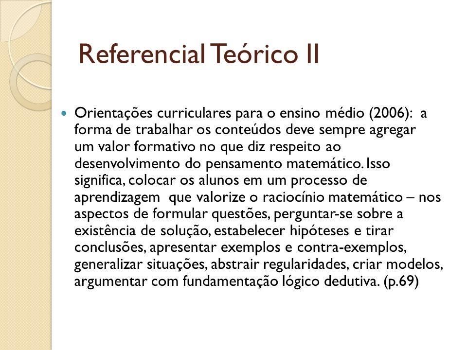 Referencial Teórico II