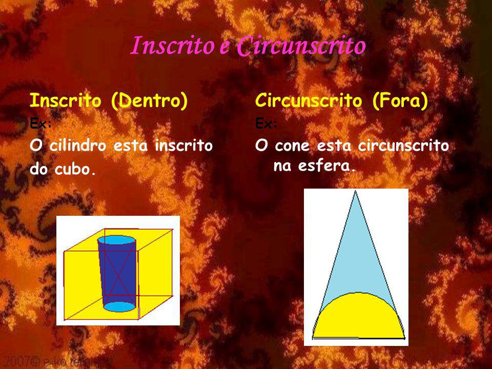 Inscrito e Circunscrito