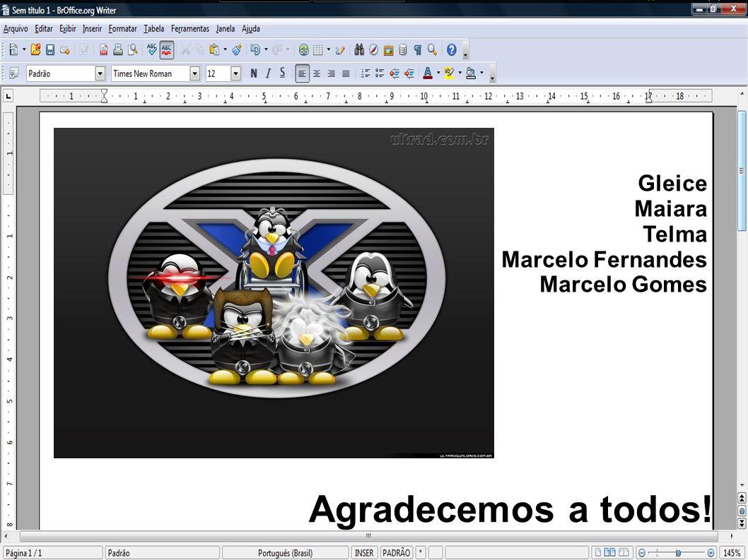 Gleice Maiara Telma Marcelo Fernandes Marcelo Gomes