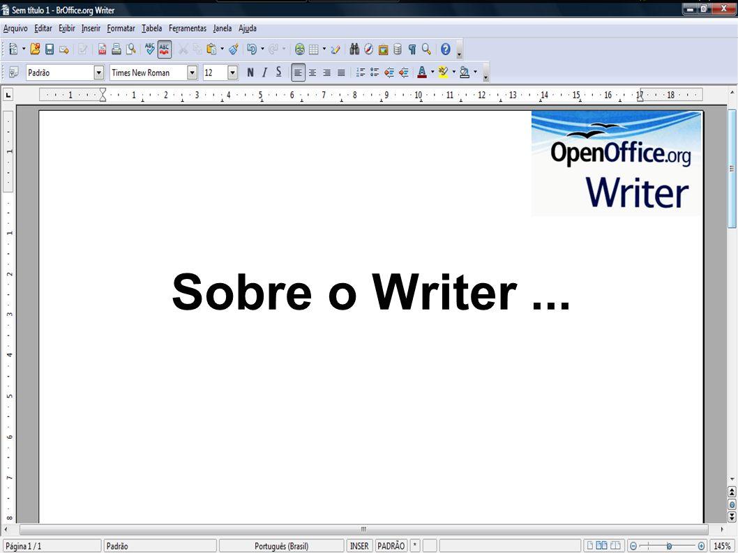 Sobre o Writer ...
