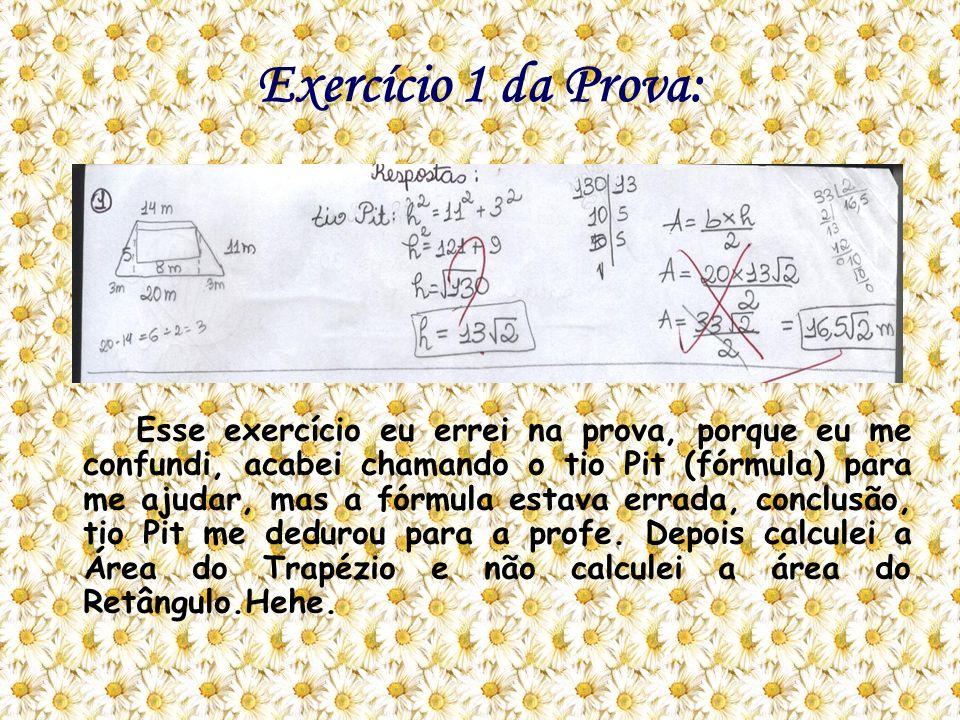 Exercício 1 da Prova: