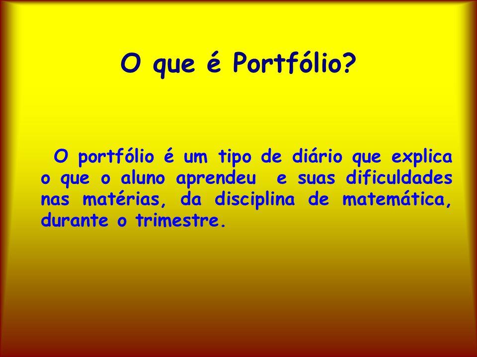 O que é Portfólio