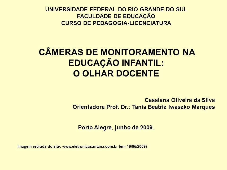 O OLHAR DOCENTE UNIVERSIDADE FEDERAL DO RIO GRANDE DO SUL