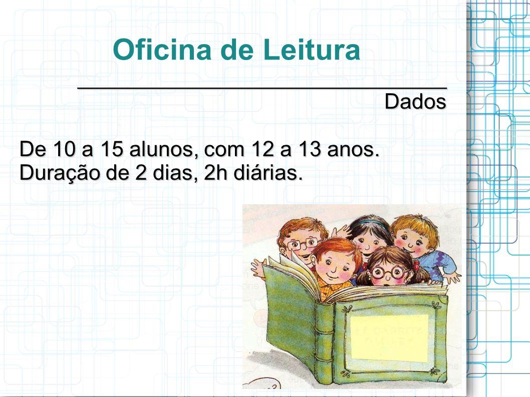 Oficina de Leitura _______________________________ Dados