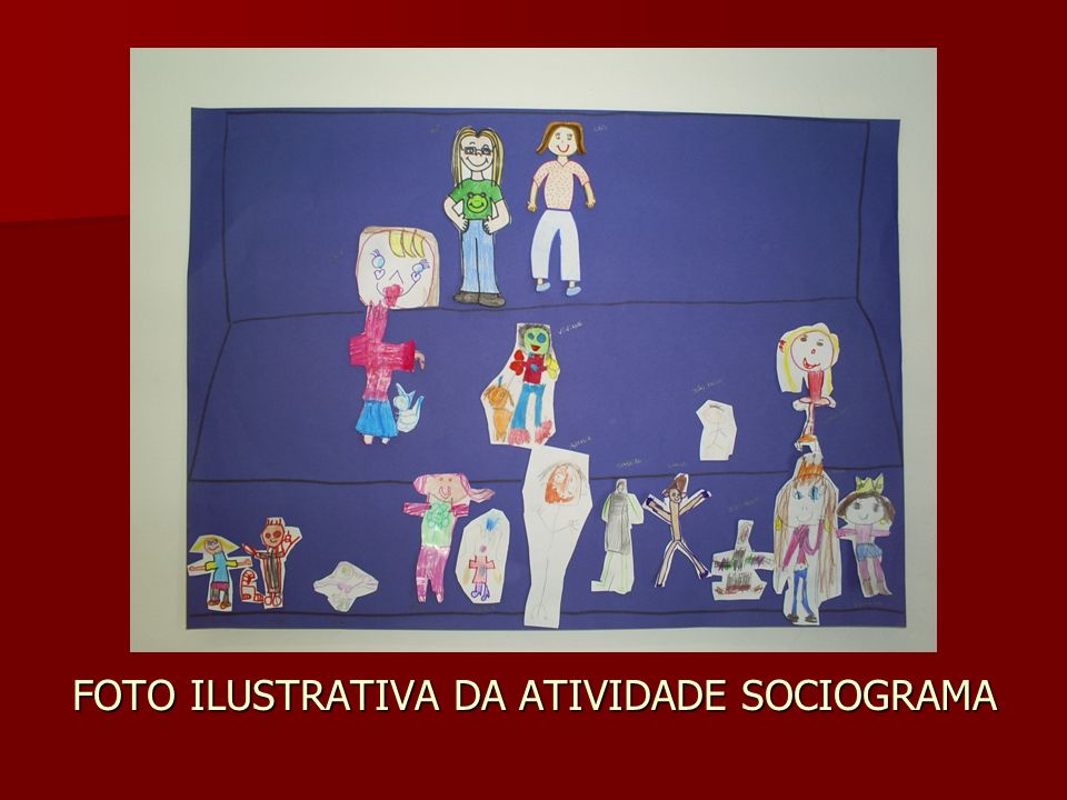FOTO ILUSTRATIVA DA ATIVIDADE SOCIOGRAMA