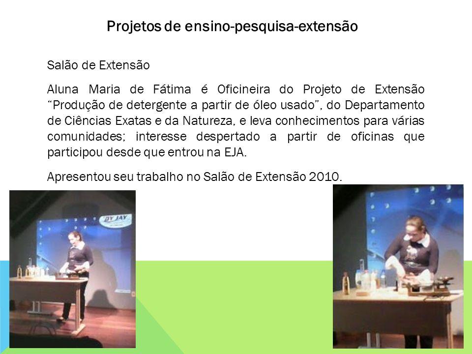 Projetos de ensino-pesquisa-extensão