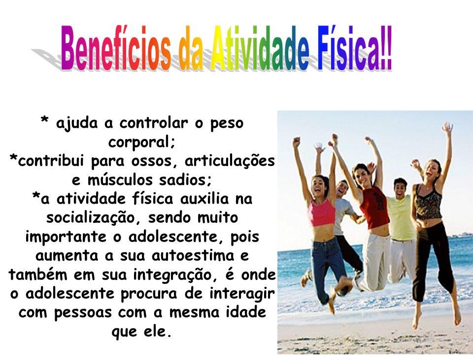 Benefícios da Atividade Física!!