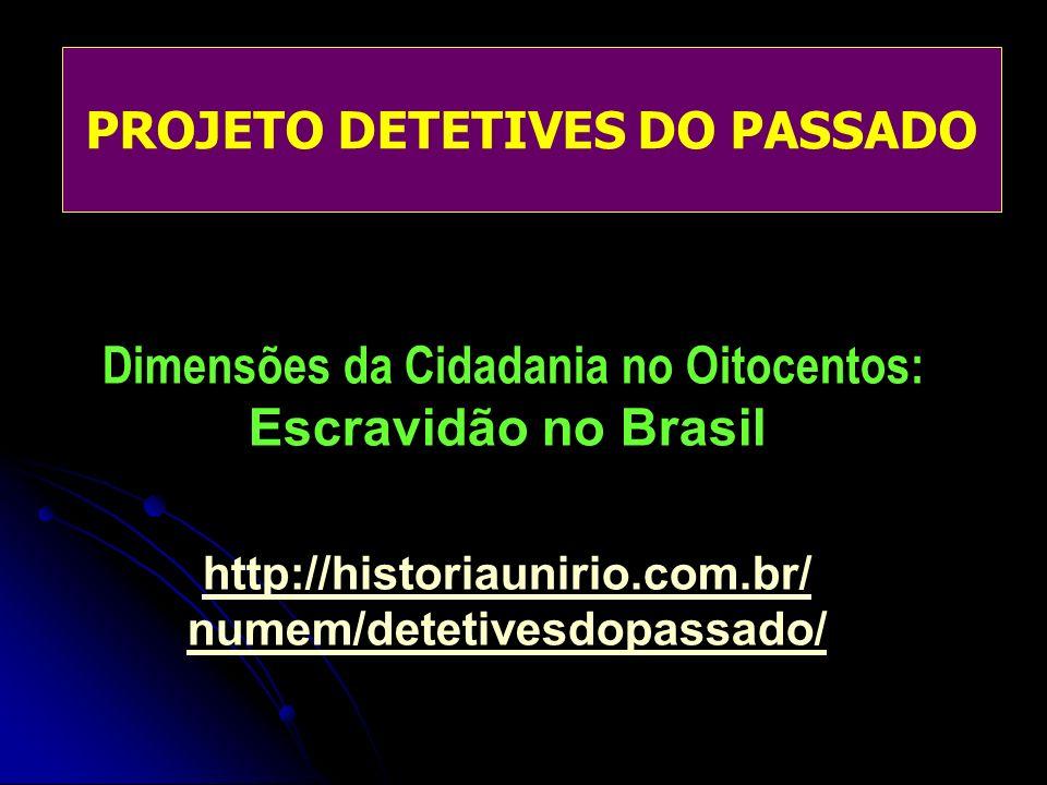 Dimensões da Cidadania no Oitocentos: Escravidão no Brasil