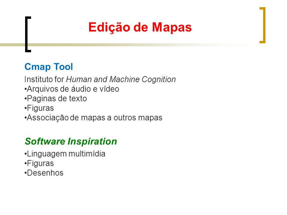 Edição de Mapas Cmap Tool Software Inspiration
