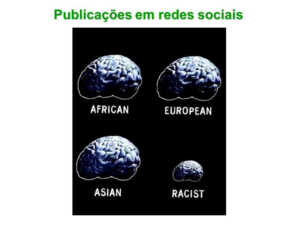 Publicações em redes sociais
