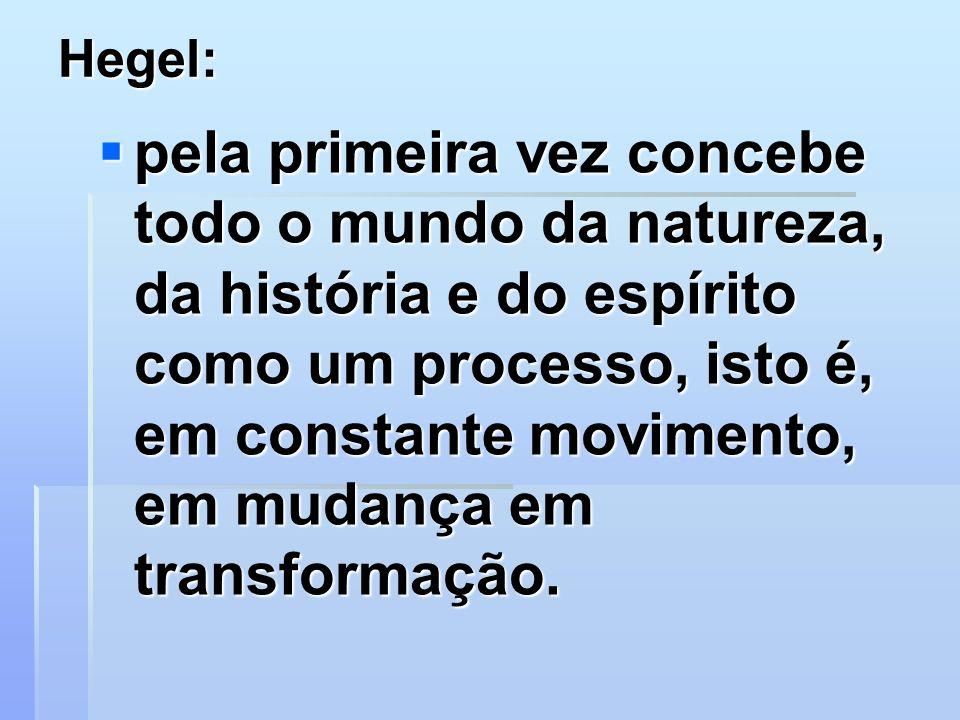 Hegel: