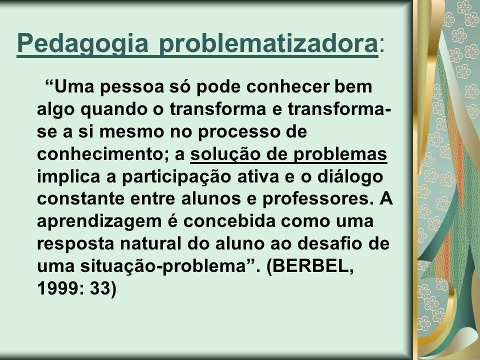 Pedagogia problematizadora: