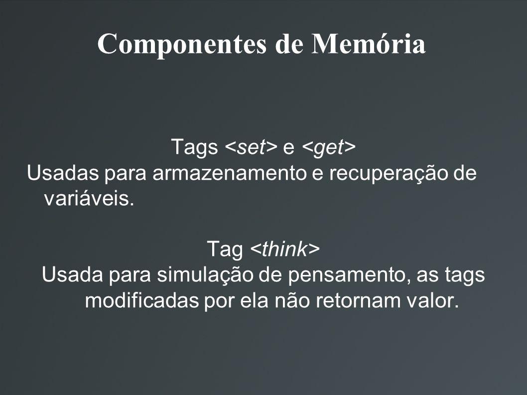Componentes de Memória