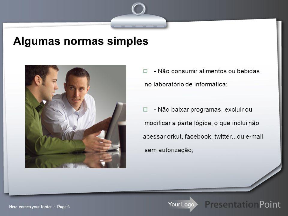 Algumas normas simples