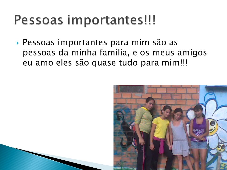 Pessoas importantes!!.