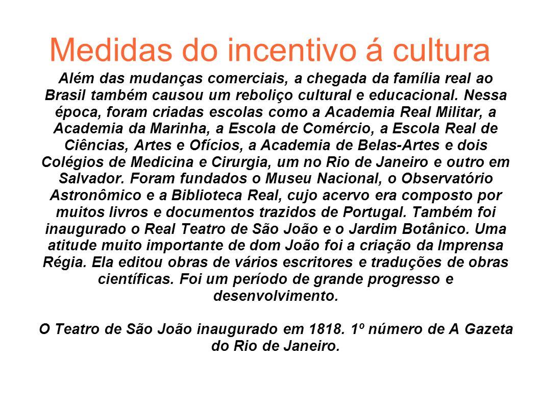 Medidas do incentivo á cultura