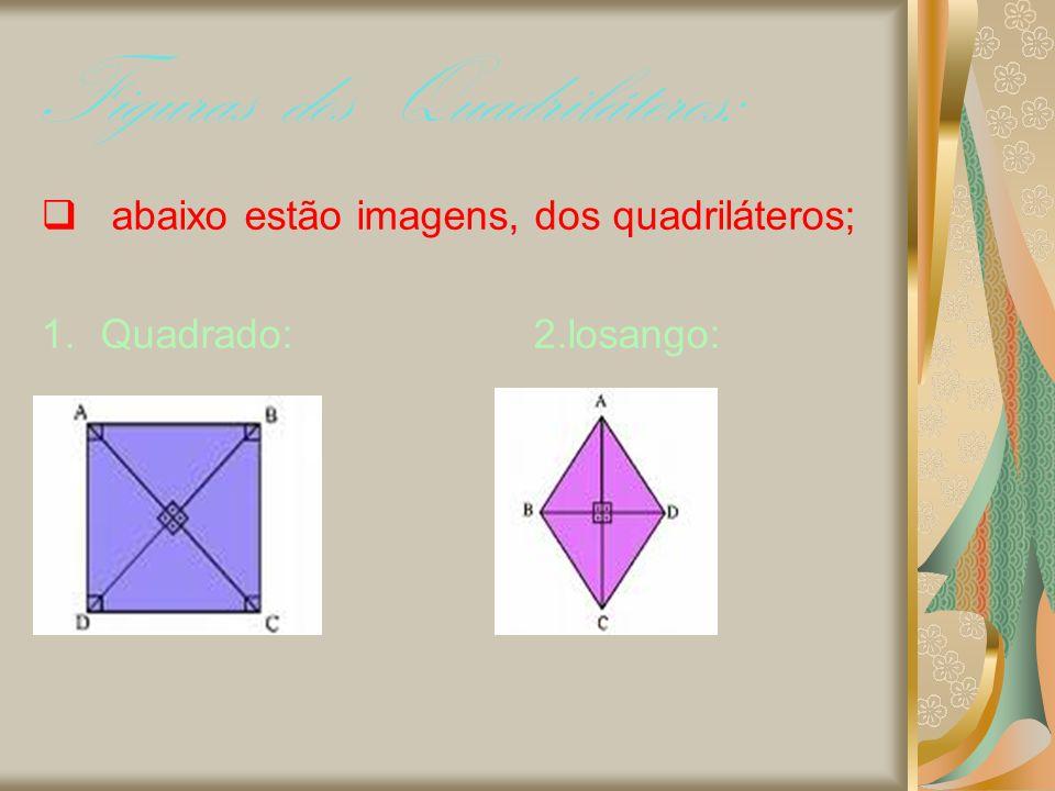 Figuras dos Quadriláteros: