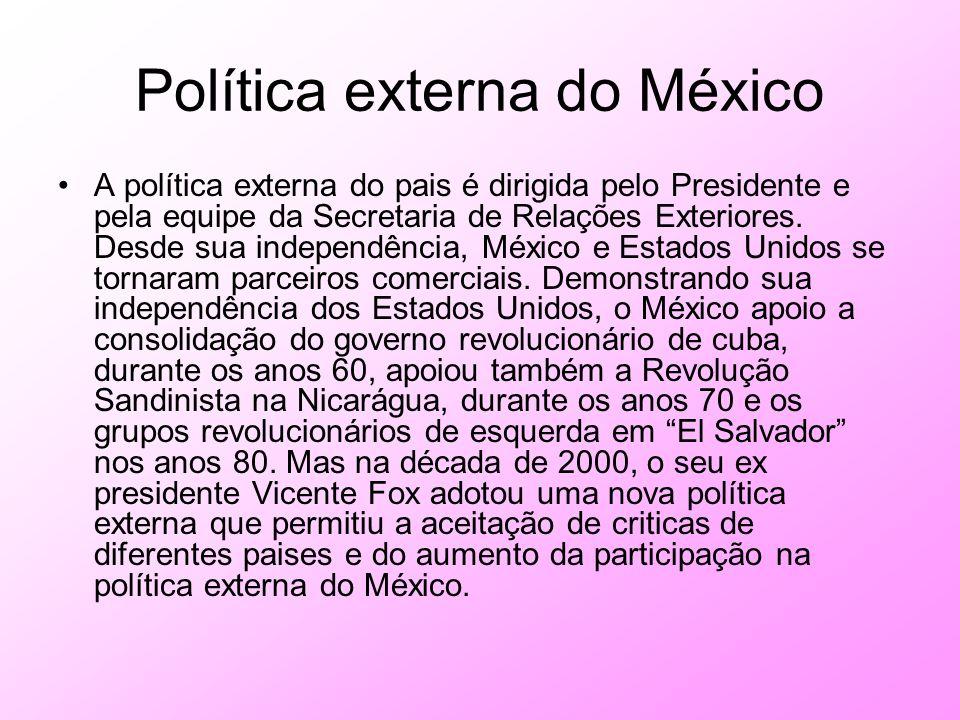 Política externa do México