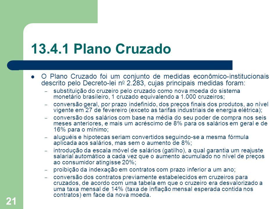 13.4.1 Plano Cruzado
