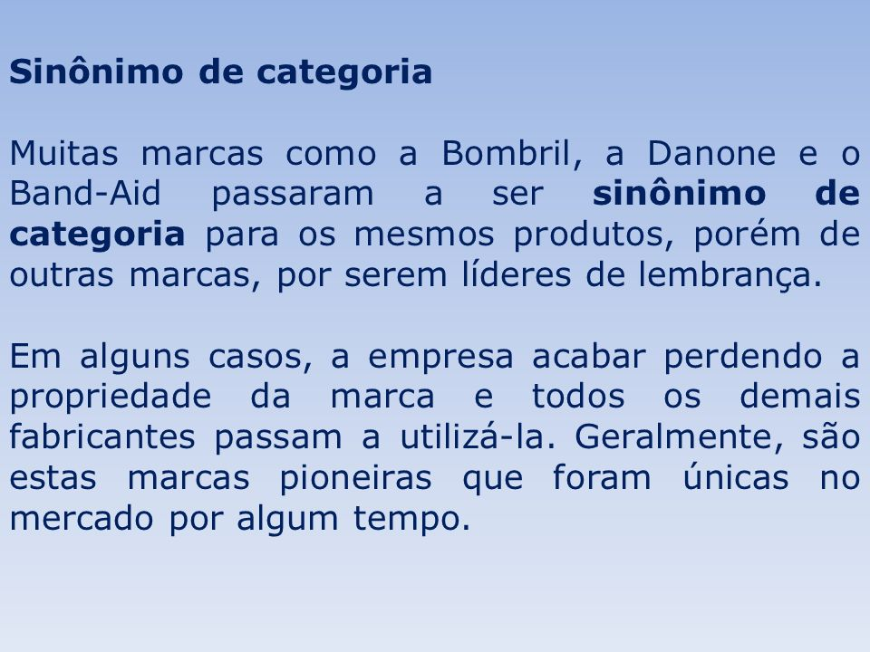 Sinônimo de categoria