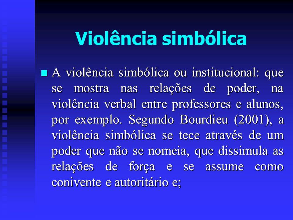 Violência simbólica