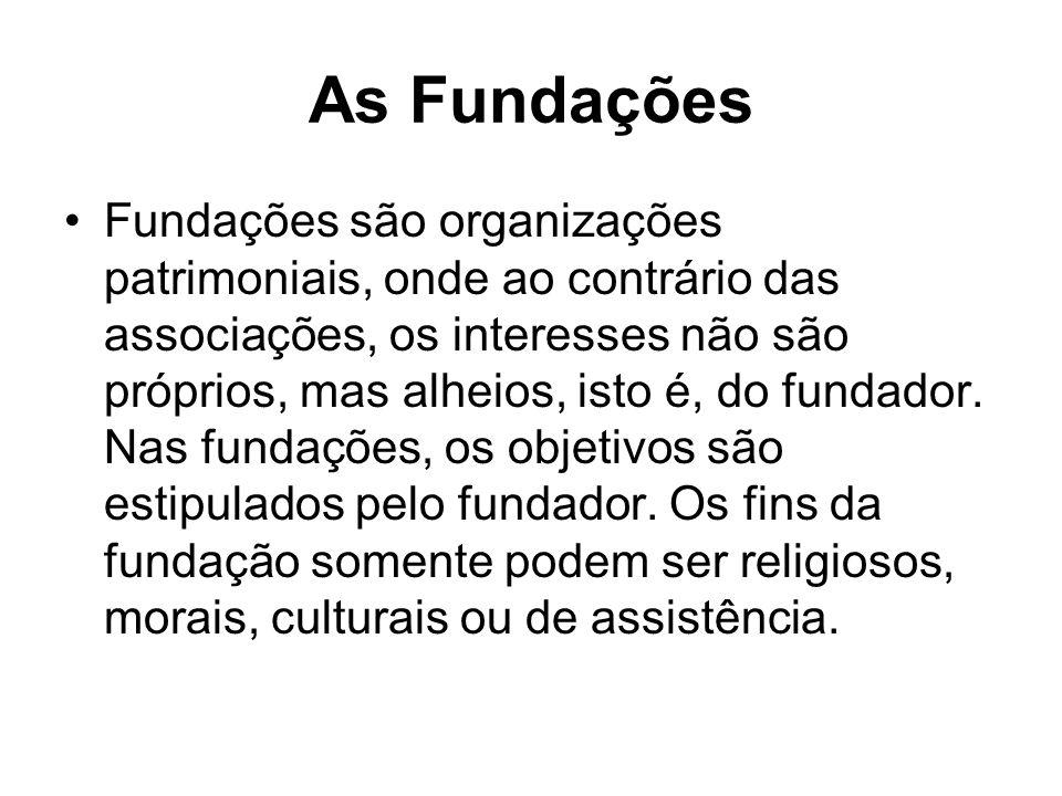 As Fundações
