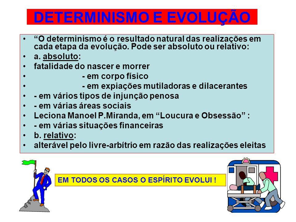 DETERMINISMO E EVOLUÇÃO