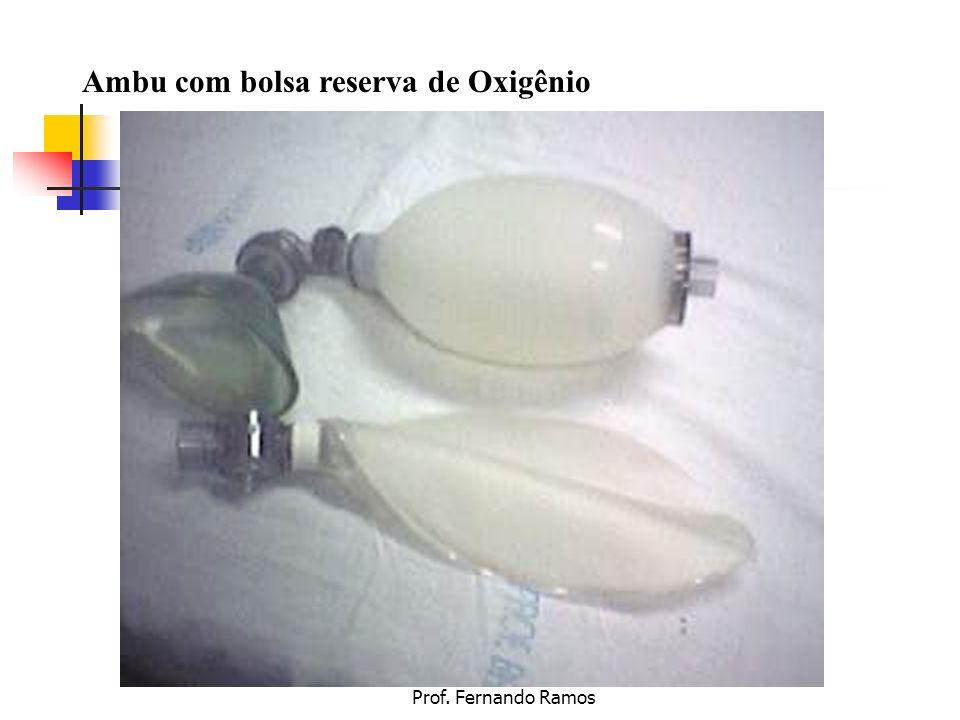 Ambu com bolsa reserva de Oxigênio