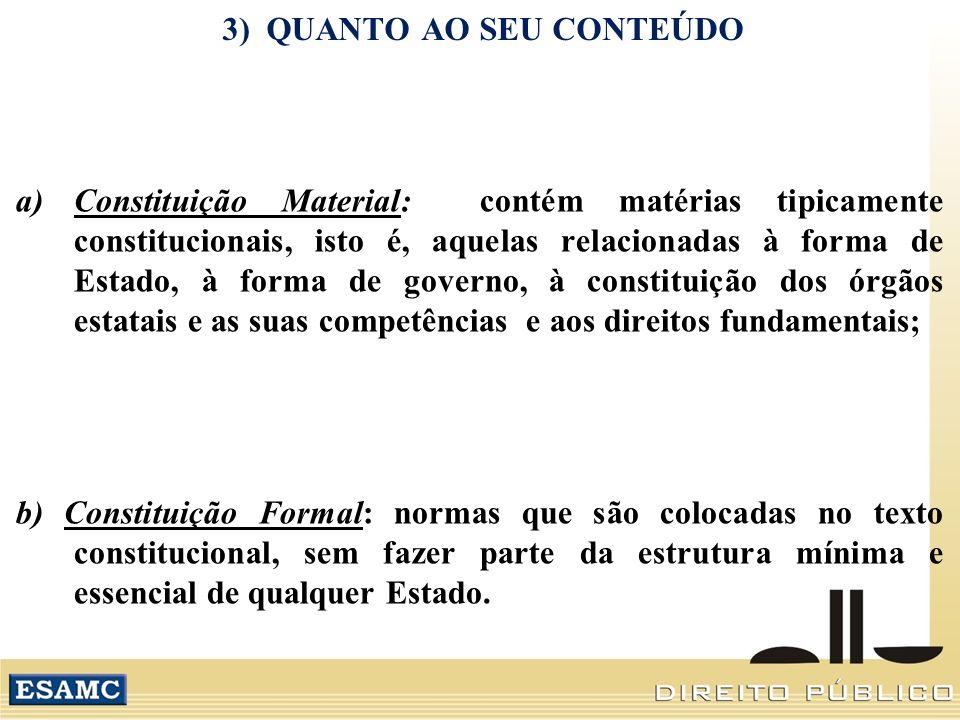 3) QUANTO AO SEU CONTEÚDO
