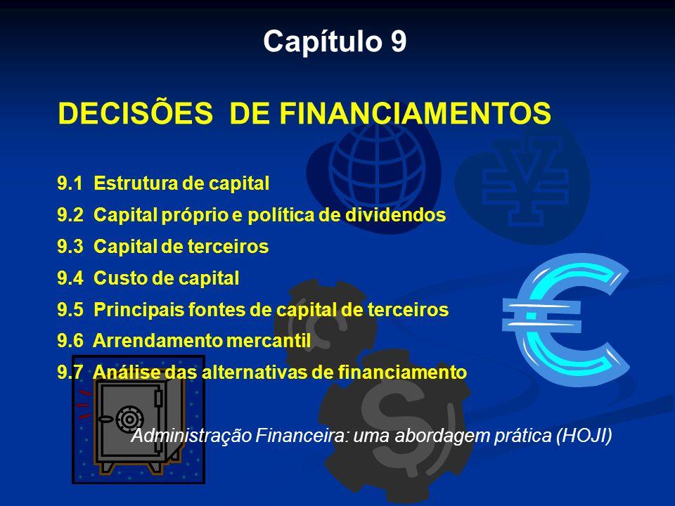 DECISÕES DE FINANCIAMENTOS