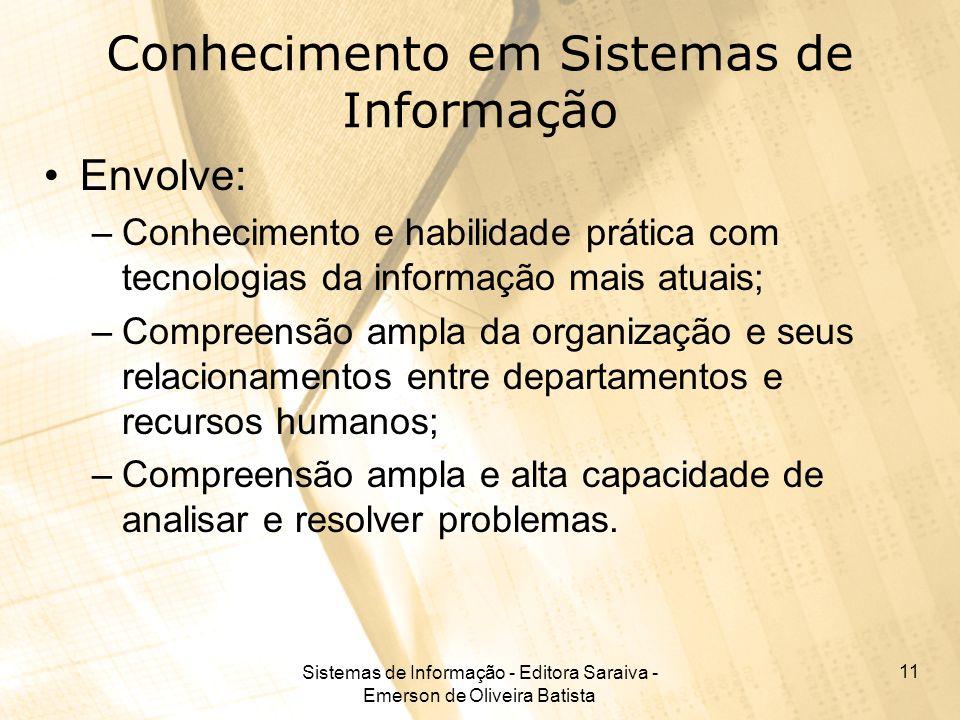 Conhecimento em Sistemas de Informação