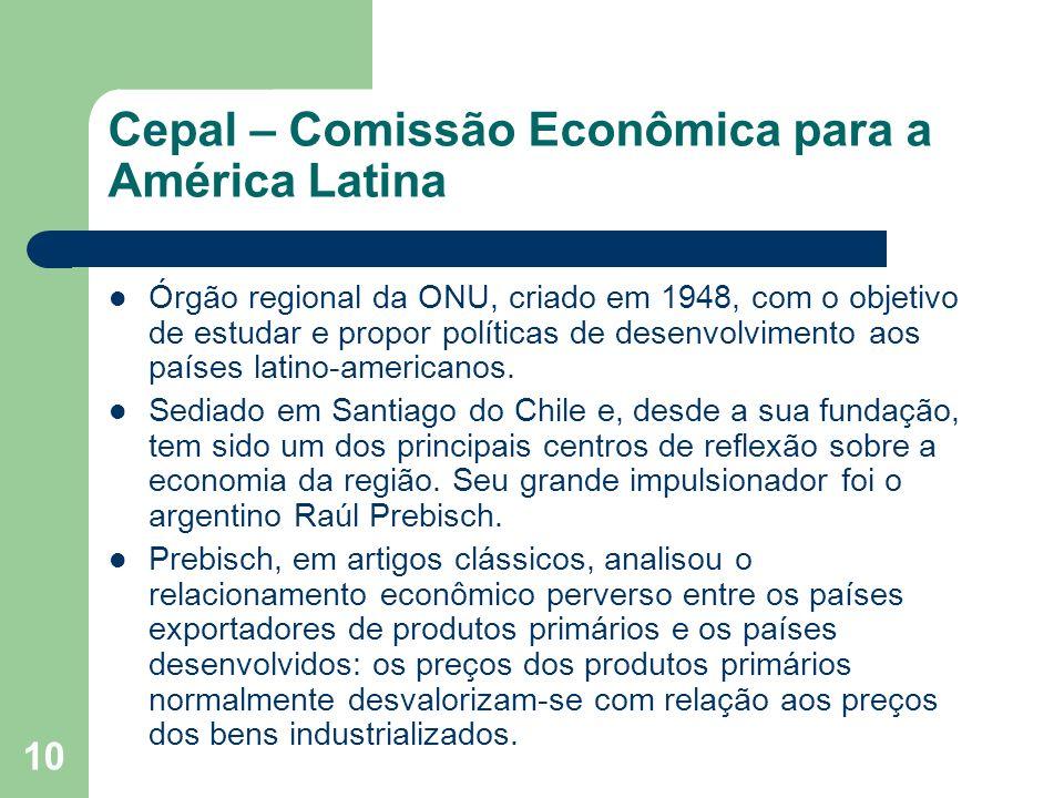 Cepal – Comissão Econômica para a América Latina