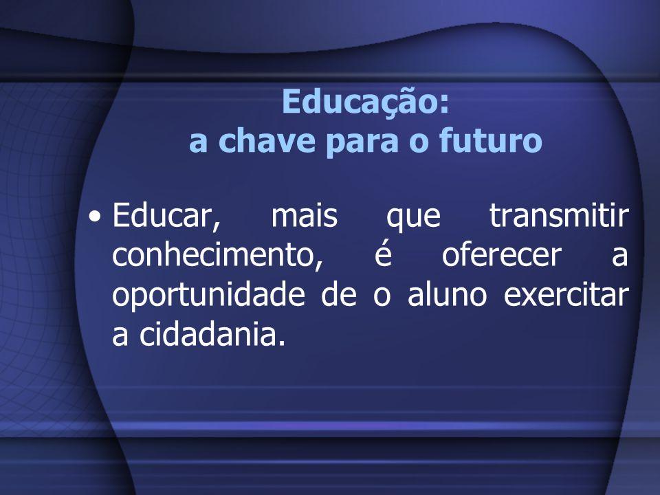 Educação: a chave para o futuro