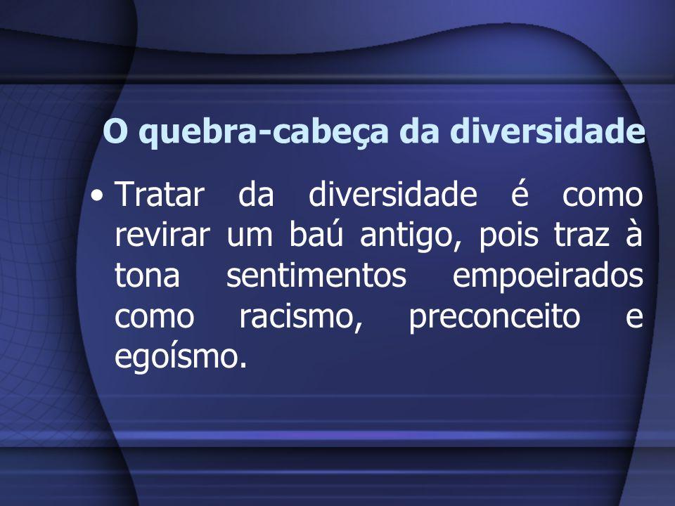 O quebra-cabeça da diversidade