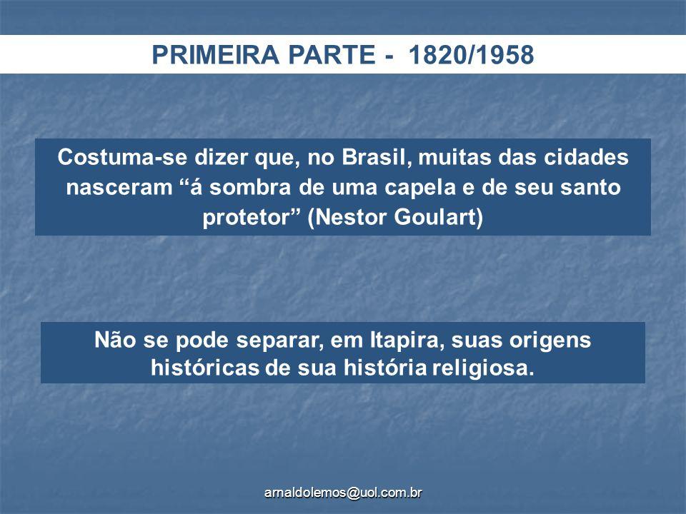 PRIMEIRA PARTE - 1820/1958