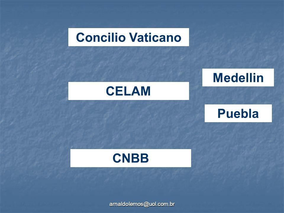 Concilio Vaticano Medellin CELAM Puebla CNBB