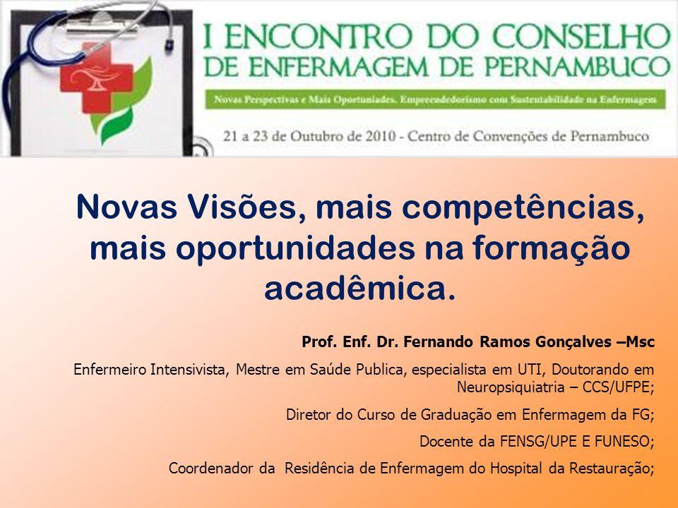 Novas Visões, mais competências, mais oportunidades na formação acadêmica.