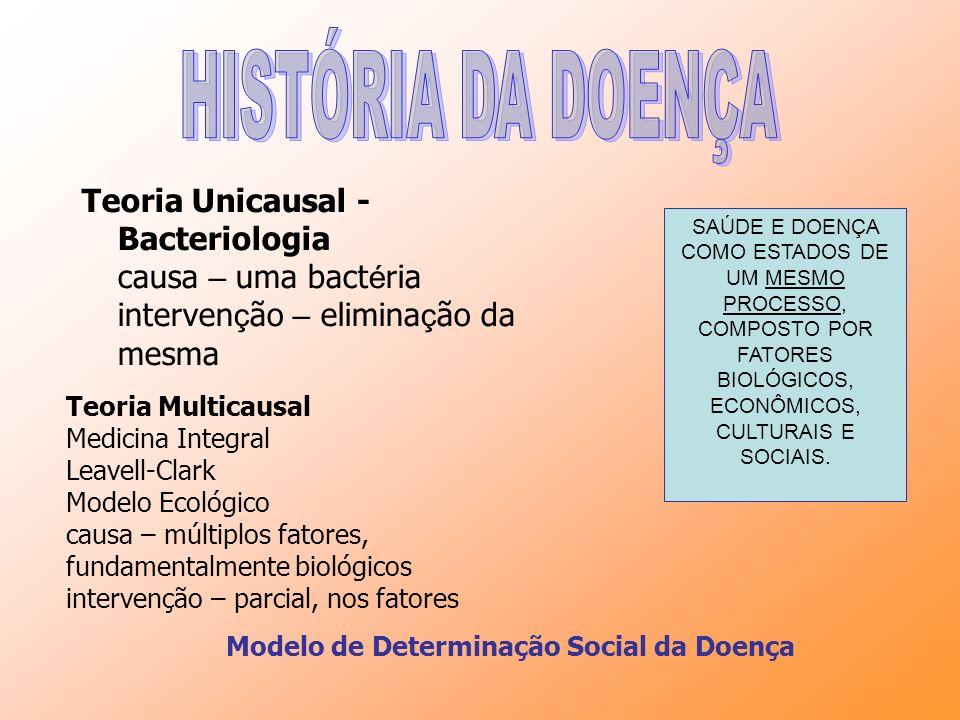 Modelo de Determinação Social da Doença