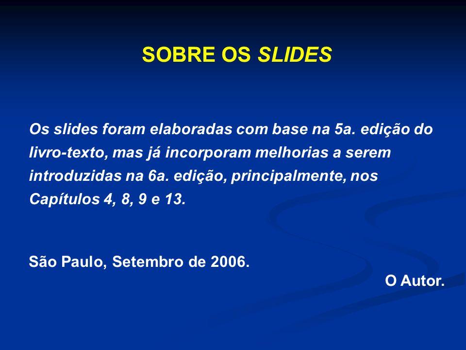 SOBRE OS SLIDES