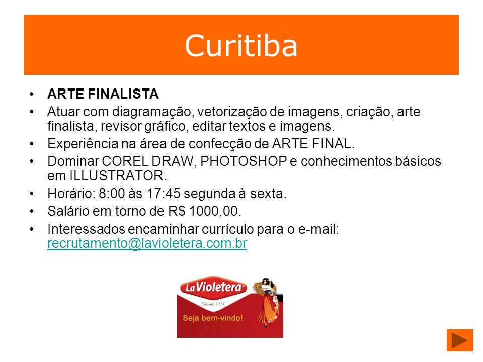 Curitiba ARTE FINALISTA