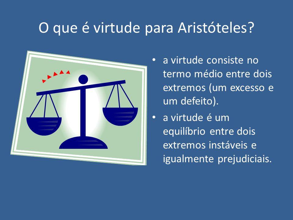 O que é virtude para Aristóteles