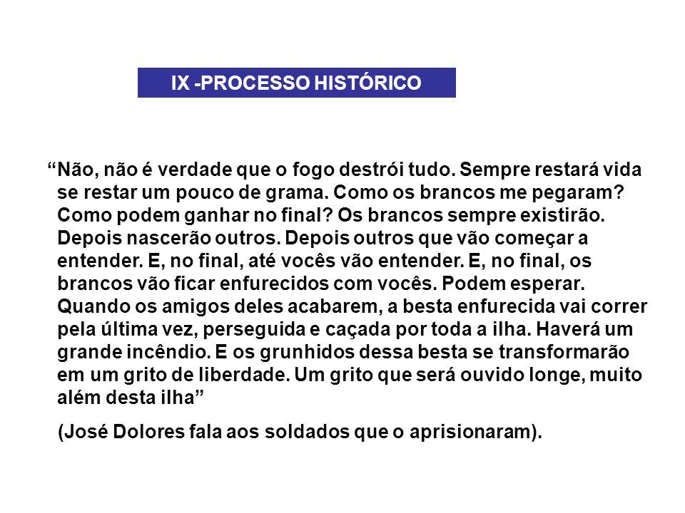 IX -PROCESSO HISTÓRICO