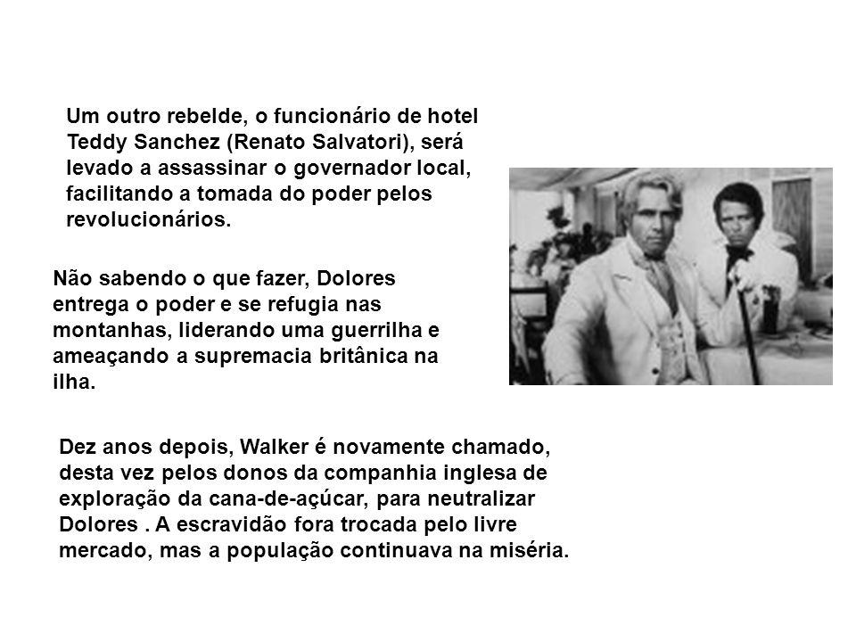 Um outro rebelde, o funcionário de hotel Teddy Sanchez (Renato Salvatori), será levado a assassinar o governador local, facilitando a tomada do poder pelos revolucionários.