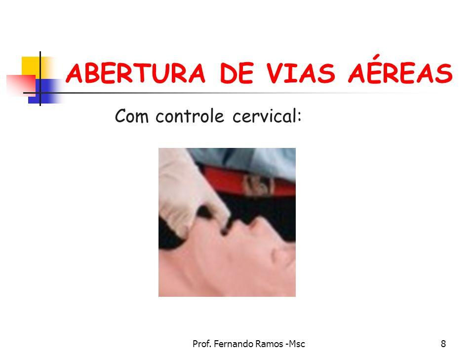 ABERTURA DE VIAS AÉREAS