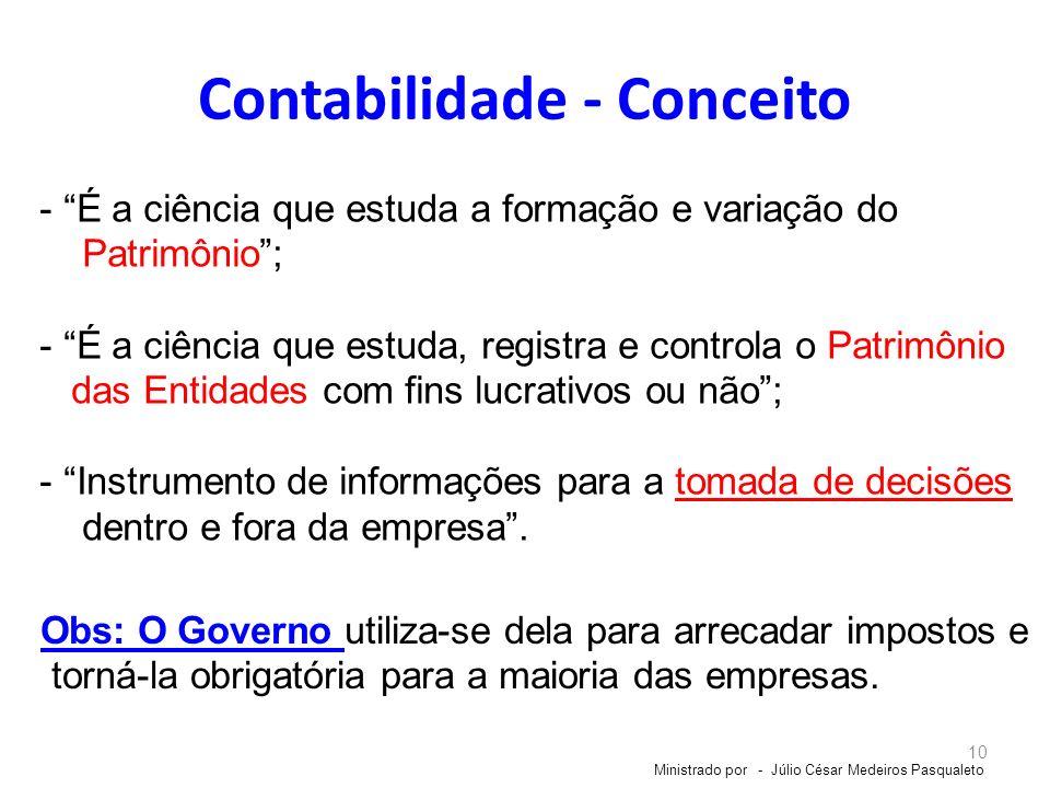 Contabilidade - Conceito