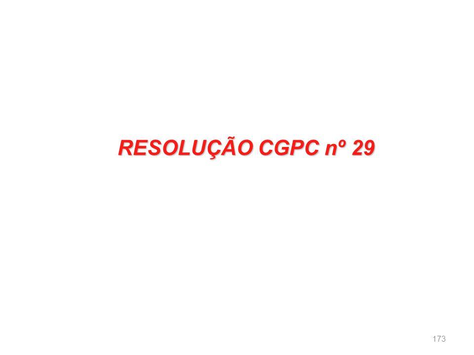 RESOLUÇÃO CGPC nº 29