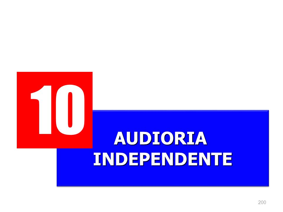 10 AUDIORIA INDEPENDENTE