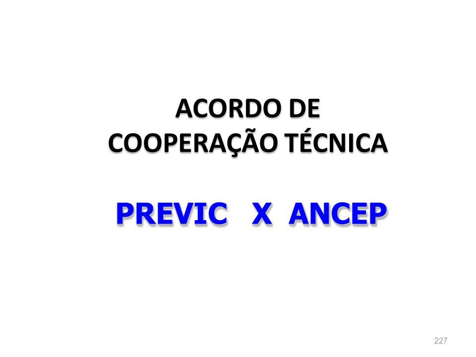 ACORDO DE COOPERAÇÃO TÉCNICA PREVIC X ANCEP